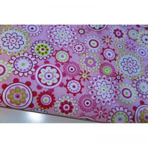 Tkanina bawełna 135g esyfloresy róż