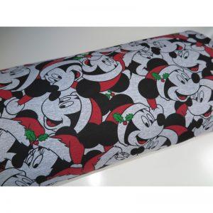 Myszka świąteczna na szarym melanżu 240 g