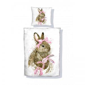 Panel poduszkowy królik 40x40