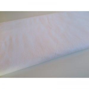 Ściągacz Bawełniany Prążkowany Biały