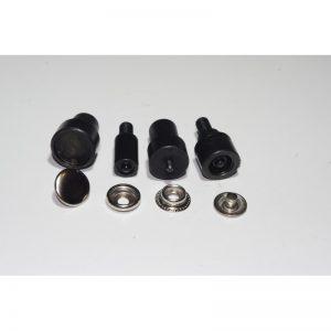 Końcówki do montażu nap /zatrzasków napa / zatrzask standard15mm