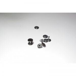Nity kaletnicze stalowe 9mm single srebrny