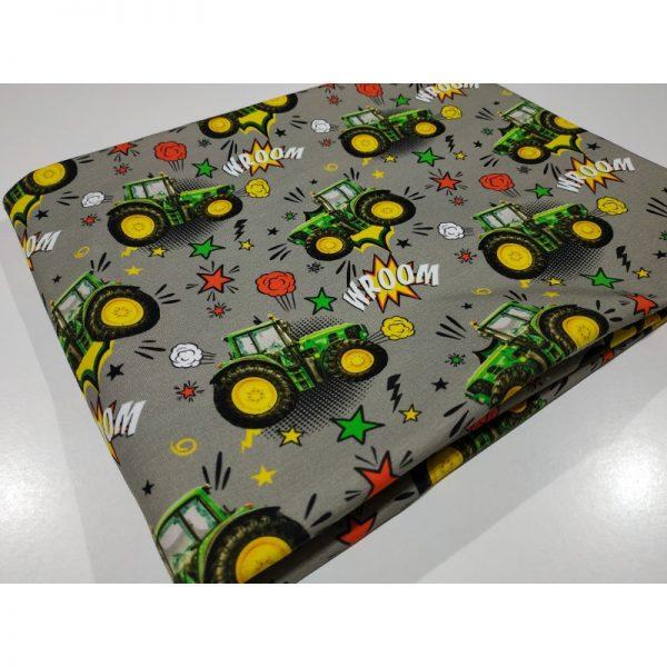 Dzianina dresówka Traktory cyfrowy 240 g